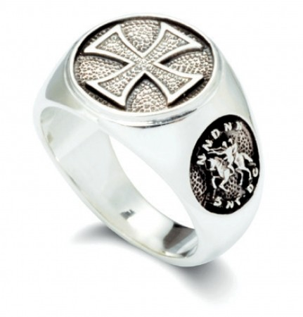 Templerring Silber