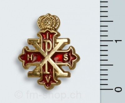 Pin Red Cross of Constantine