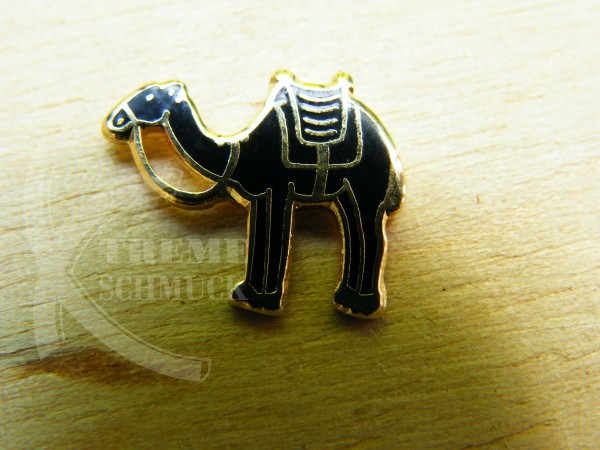 Black Camel Pin