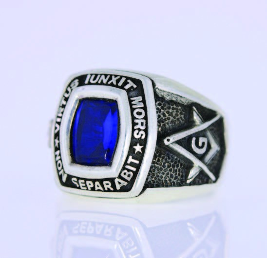 Masonic Ring Silber Non Separabit