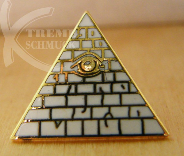 "Pin ""Illuminati"", vergoldet"